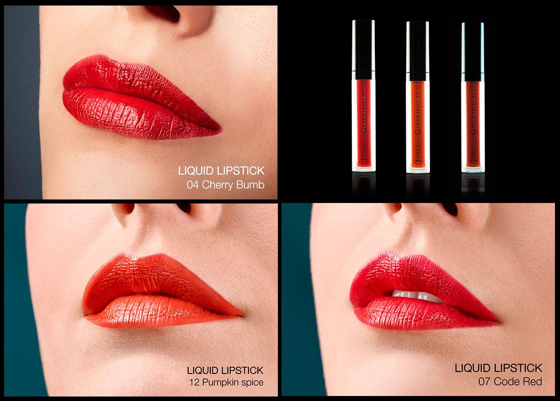 Labios efecto vinilo con Liquid Lipstick de Jorge de la Garza