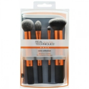 Comprar KIT 4 BROCHAS DE ROSTRO CON ESTUCHE -FLAWLESS BASE SET- REAL TECHNIQUES