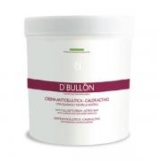 CREMA CALOR ACTIVO con Guaraná y Centella Asiática 500 ml. D´BULLON®