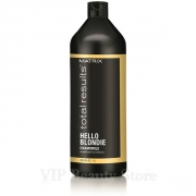Comprar HELLO BLONDIE Acondicionador Cabellos Rubios -1000 ml- TOTAL RESULTS MATRIX