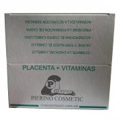 Comprar TRATAMIENTO ANTI-CAIDA PLACENTA VITAMINAS 12 AMPOLLAS X 12 ML. PIERINO COSMETICS