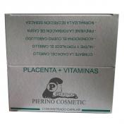 TRATAMIENTO ANTI-CAIDA PLACENTA VITAMINAS 12 AMPOLLAS X 12 ML. PIERINO COSMETICS