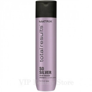 Comprar SO SILVER  Champú Cabellos Blancos -300ml- TOTAL RESULTS MATRIX.