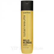 Comprar HELLO BLONDIE  Champú Cabellos Rubios -300 ml- TOTAL RESULTS MATRIX.