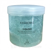 KINWORKS I·GLOO Gel-Hielo Glasé Máxima Fijación 500 ml. KIN COSMETICS