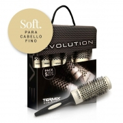 Comprar PACK 5 CEPILLOS EVOLUTION SOFT. TERMIX