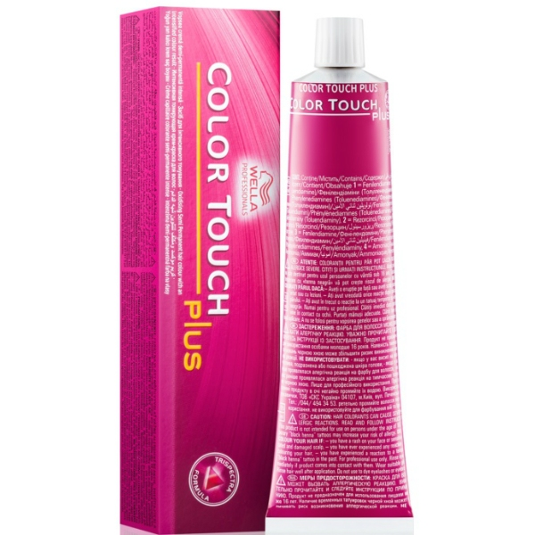 Baño De Color Wella | Comprar Bano De Color Color Touch Plus Especial Canas 60ml Wella