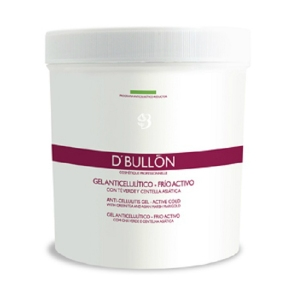 GEL ANTICELULITICO - FRIO ACTIVO con Té Verde y Centella Asiática 500 ml. D´BULLON®