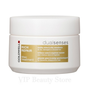 DUALSENSES RICH REPAIR 60 Sec Treatment 200 ml. GOLDWELL