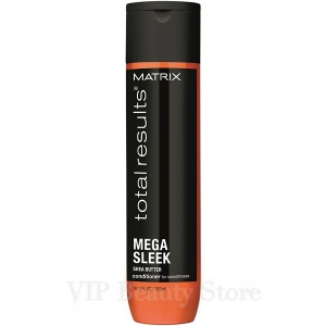 MEGA SLEEK Acondicionador Cabellos Encrespados -300 ml- TOTAL RESULTS MATRIX