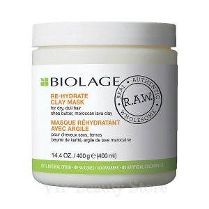 MATRIX BIOLAGE RAW MASCARILLA RE-HYDRATE 400 ML