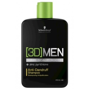 CHAMPÚ ANTI CASPA 3D-MEN 250ML SCHWARZKOPF
