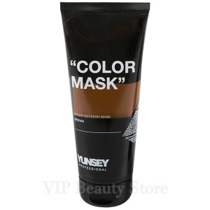 COLOR REFRESH MASK BROWN -MARRON- 200ML. YUNSEY