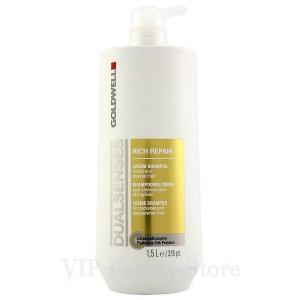 DUALSENSES RICH REPAIR Cream Shampoo 1.5 l. GOLDWELL