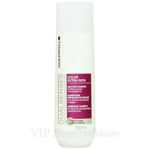 DUALSENSES COLOR EXTRA RICH Fade Stop Shampoo 250ml. GOLDWELL