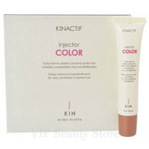 KINACTIF COLOR -Injector 24x18ml- Reestructurante Profundo KIN CONSMETICS