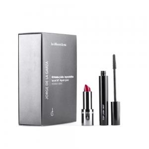 Kit regalo pestañas/ labios Jorge de la Garza (Mascara top lash 360/ Barra magnetic 02)