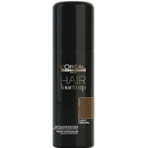 HAIR TOUCH LIGHT BROWN -SPRAY CUBRE CANAS MARRÓN CLARO- 75ML LOREAL