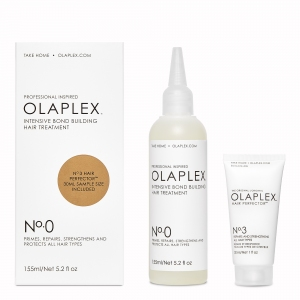 OLAPLEX No.0 INTENSIVE BOND BUILDING HAIR TREATMENT SET LANZAMIENTO (OLAPLEX No.0 155ML - OLAPLEX No.3 30ML)