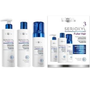 SERIOXYL FULLER HAIR - KIT 3 Cabello muy Sensibilizado Afinado L'Oréal Professionnel
