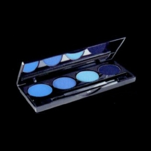 PALETA SOMBRAS OJOS SMOKY QUARTER N10 BLUE. JORGE DE LA GARZA