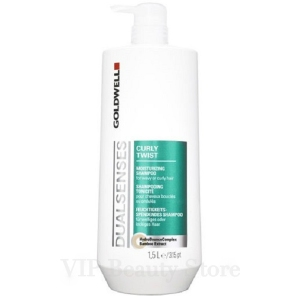 DUALSENSES CURLY TWIST Moisturizing Shampoo 1.5 l. GOLDWELL