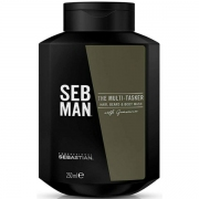 Comprar GEL 3EN1 CUERPO, CABELLO Y BARBA - THE MULTITASKER - 250ML SEBASTIAN MAN