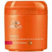 Comprar MASCARILLA ENRICH FINE/NORMAL -HIDRATANTE CABELLO FINO- 150ML WELLA